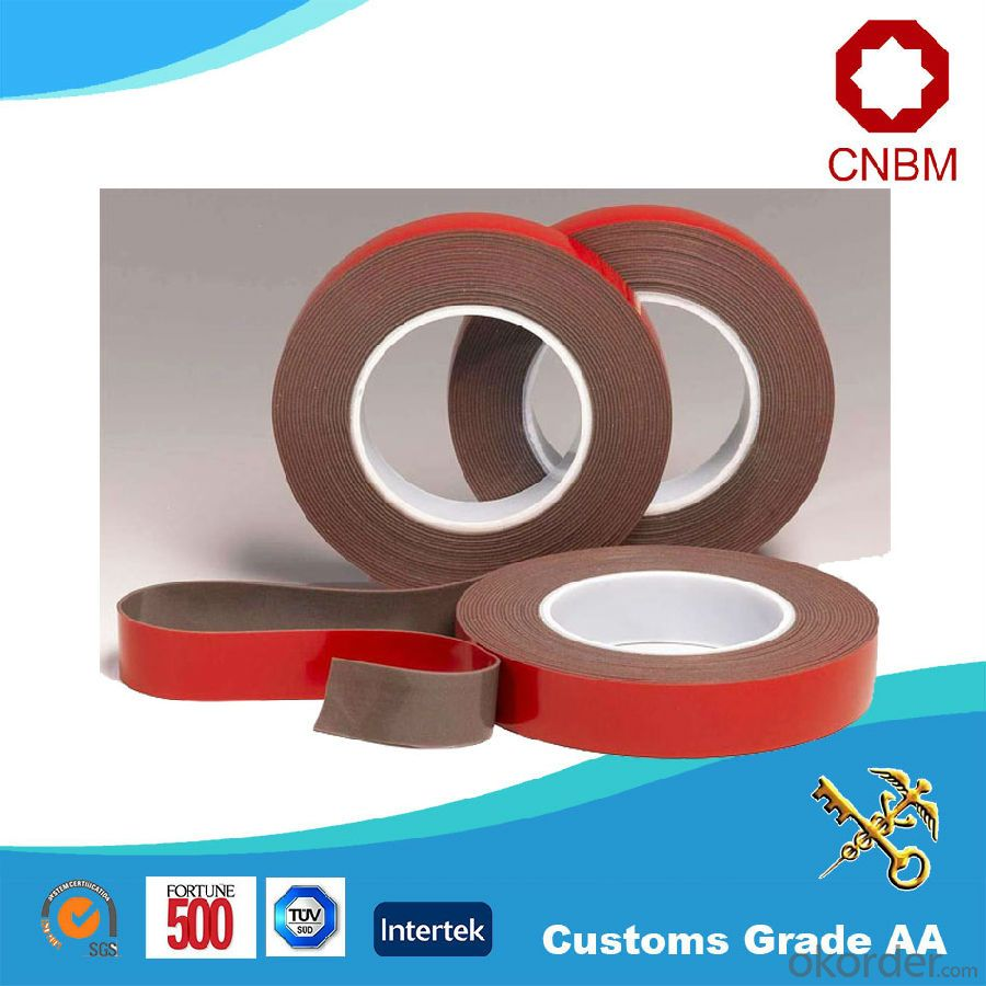 Double Sided Foam Tape For Outdoor Advertising