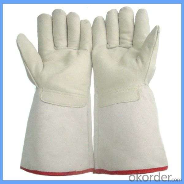 low temperature resistant Leather Cryogenic Gloves