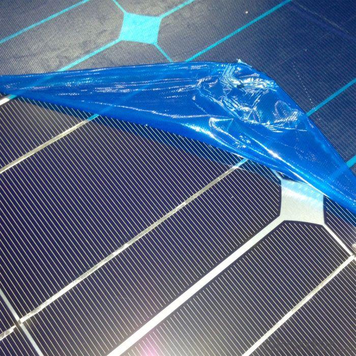 100W Mono Flexible Solar Power Panel Made in China