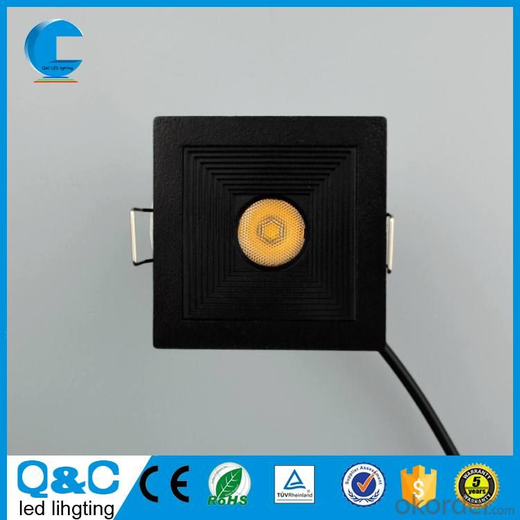 square cabinet led downlight