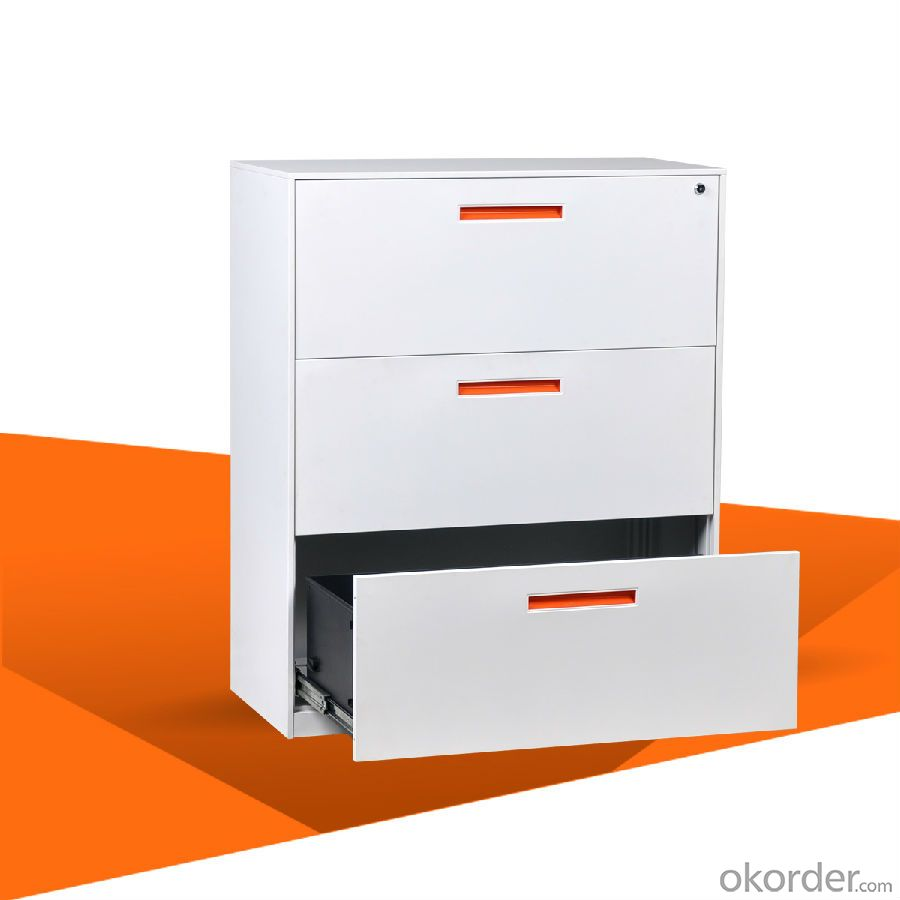 Filing Cabinet Drawer Lateral Filing  Cabinet 3 drawer Office Furniture