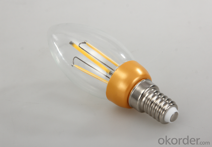 LED FILAMENT LAMP CANDLE DIMMABLE BULB 3W NEW DEVELOPMENT