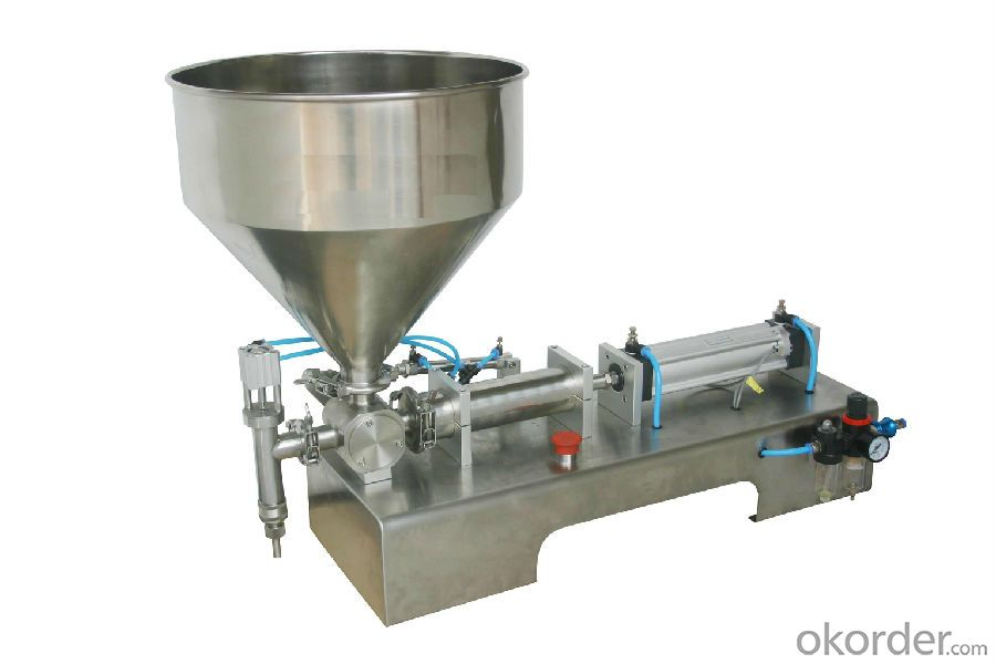 Semi Auto Filling Machine for Soy Sauce Packing