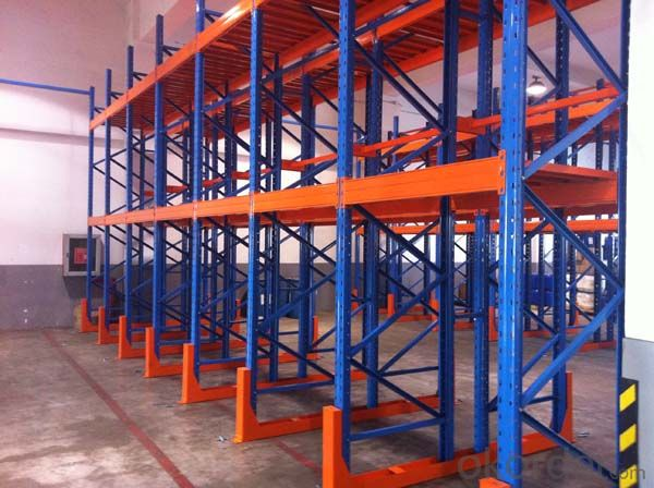 Beam Type Pallet Racking System for Warehous