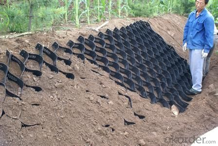 HDPE Geocell in Road and Slope Surface Protection