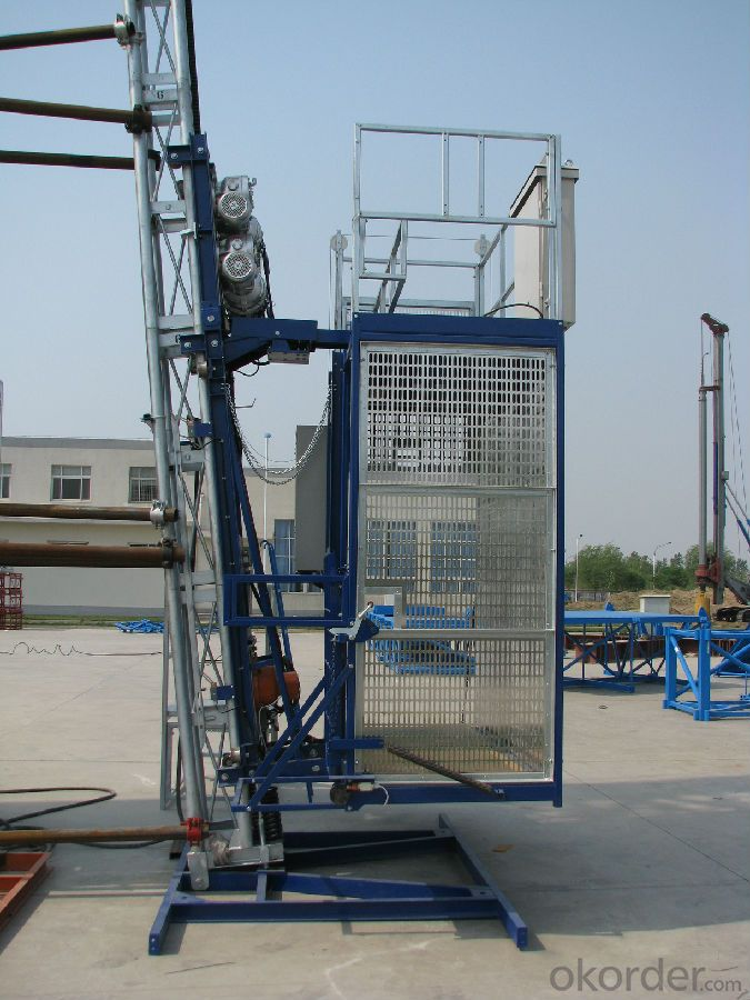 Building Lifting Hoist Single Cage SC200 CE