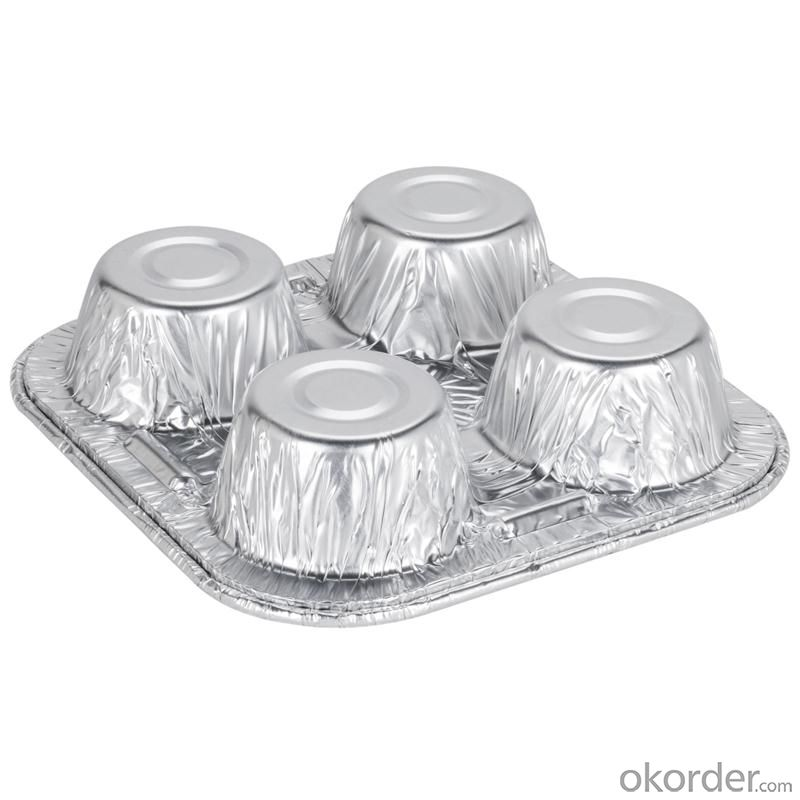 China Households aluminum foil roll for food container