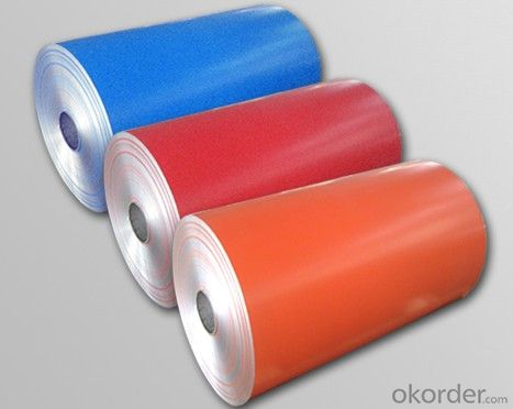 Prepainted Aluminum Coil, Prepainted Galvalume Steel Coil, Color Coated Iron Sheet
