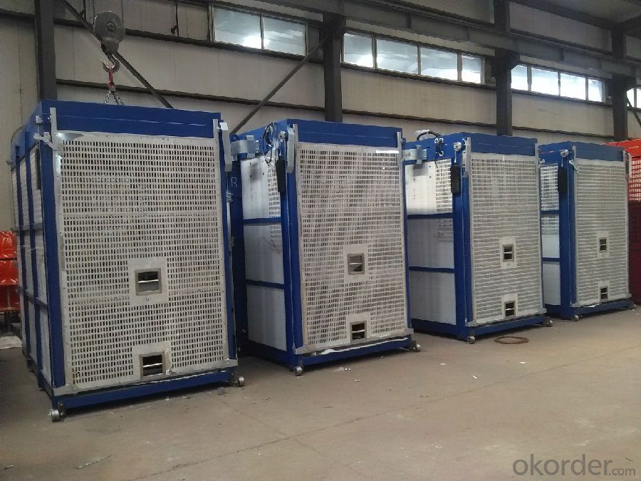 SC270 Single Cage/Twin Cage Building Material Hoist For Sale