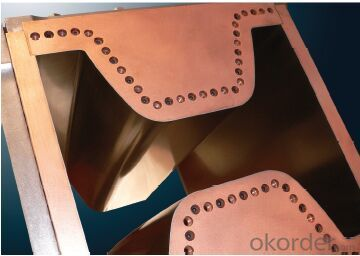 Beam Blank copper mould plate/continuous casting copper mould plate