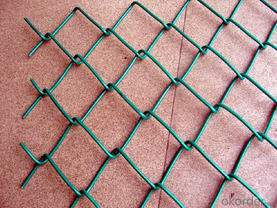 PVC Coated Chain Link Fence Mesh with Multipurpose