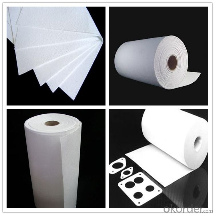 1260C Ceramic Fiber Paper High Alumina Fire Resistant Insulation