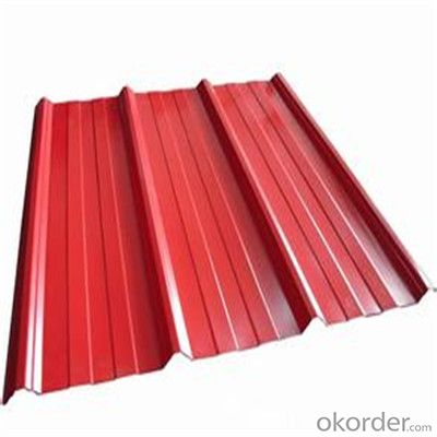 Color Coated Galvanized Corrugated Iron Sheet