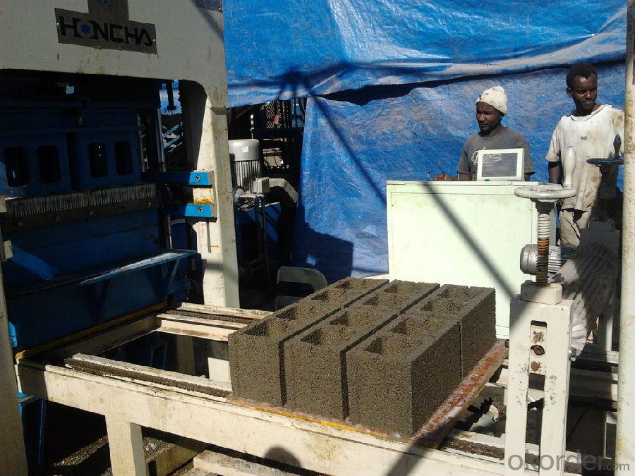 Concrete Block Machine, Block Making Machine, Block Machine, Brick Making Machine