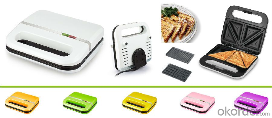 YD205 household electric sandwich maker with CE GS ETL
