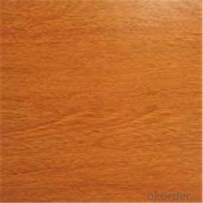 Wood Grain Coated Galvanized PPGI Steel Plates