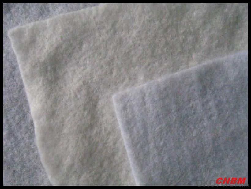 Road Construction 500g Nonwoven Geotextile Fabric
