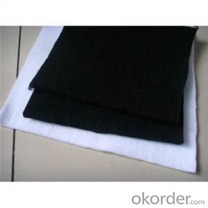 Needle Punched Geotextile / Non Woven Geotextile Fabric in Various Colour