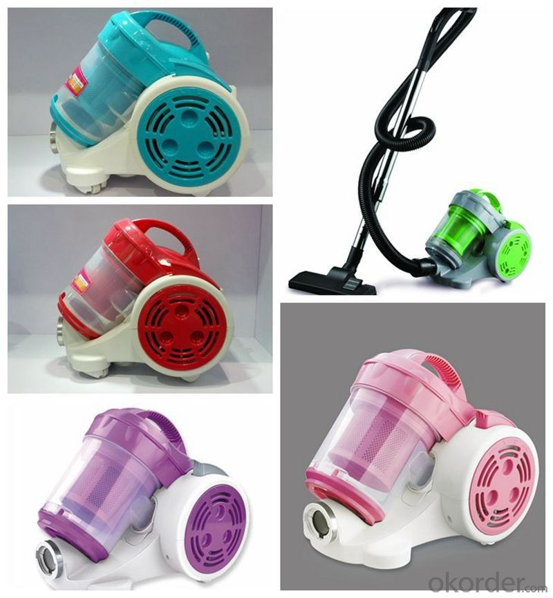 Vacuum cleaner bagless hepa filter  cyclone vacuum cleaner for home use