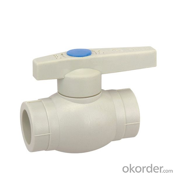 PP-R Ball valve  with  plastic ball  (cold water)