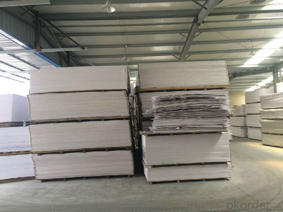 Corrosion-resistant high-grade decoration materials PVC foam sheet