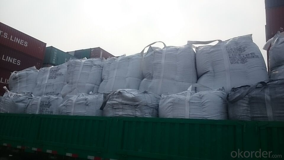 Used in EAF as Charge Coke for Steel Mills with S 0.3%max
