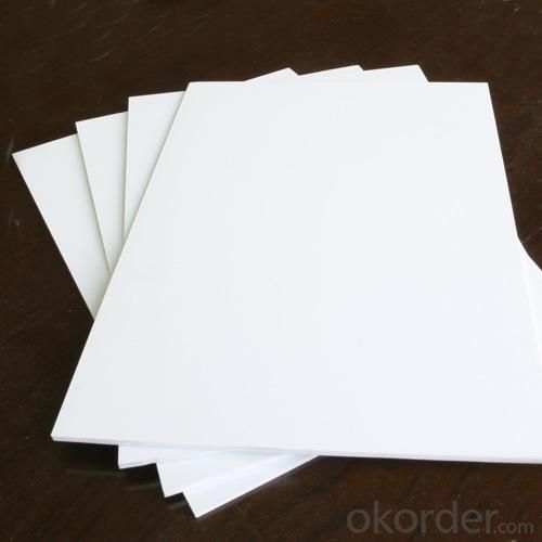 Ec- friendly Colorful pvc foam board 3mm to 20mm for furniture