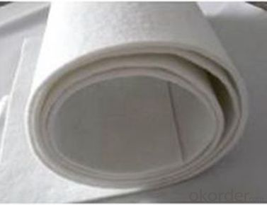 Non-woven  Short Fiber Needle Punched Geotextile for Drainage in China