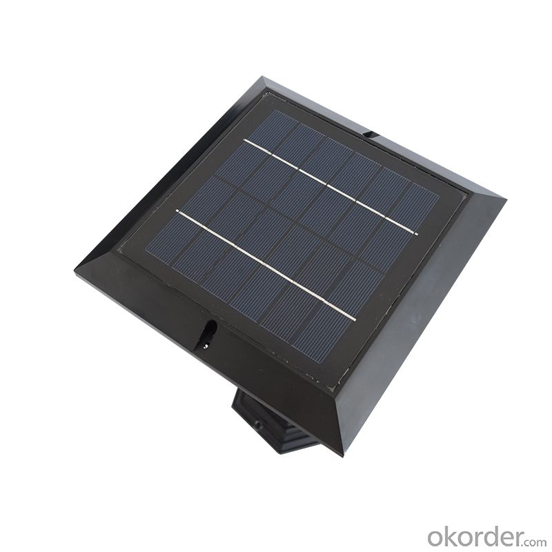 LED Solar Post Lantern Solar Column Light Solar Fence Light Solar LED Post Lamp Solar Wall Lamp