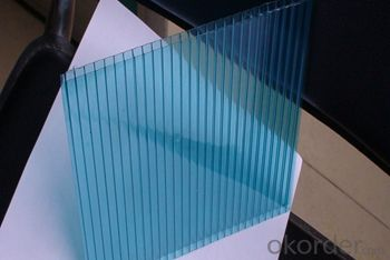 Buy 100% Lexan Lightweight PC Polycarbonate Hollow Sheet/plastic