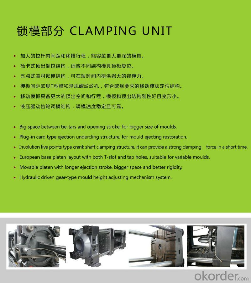pp disposable food box plastic injection molding machine for thin wall products