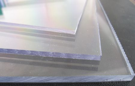 thickness 20mm polycarbonate sheet of sunlight