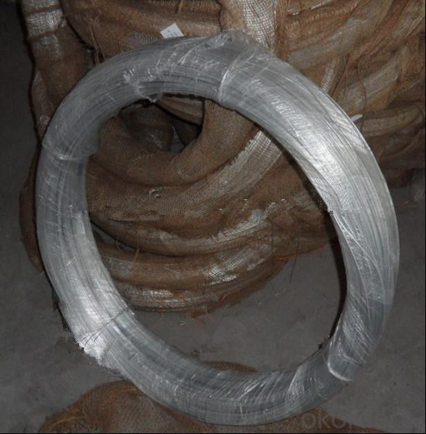 22gauge 7kg/Roll Galvanized Binding Wire for Saudi Arabia/Galvanized Tie Wire