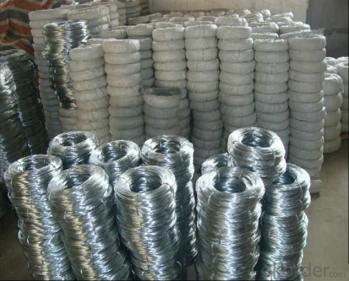 China Supplied Galvanized Iron Wire for Binding Material (BWG6-BWG28)