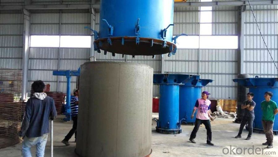 concrete pipe making machine for drainage construction
