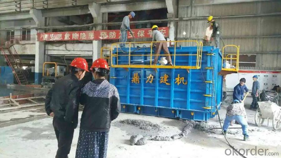 concrete culvert box making machine mold
