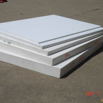 White PVC Foam Board for construction/Buiding materials/plastic