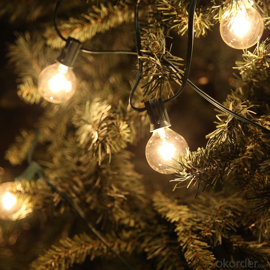 LED Light Bulb String for Outdoor Indoor Wedding, Party Stage Decration