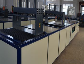 FRP Profile Pultrusion Automatic frp soundproof board making machine with High Quality