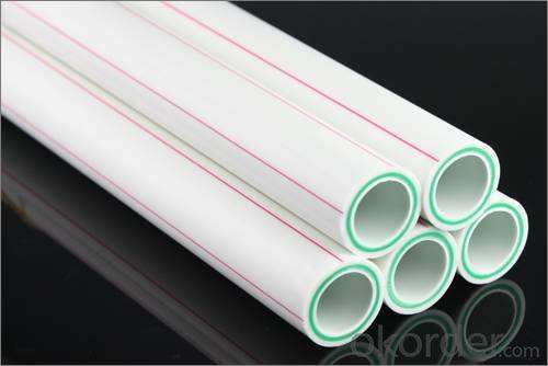New PPR Pipes and Fittings for Hot and Cold Water Conveyance from China Factory