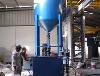 10 Inch Diameter Carbon Steel Rectangular FRP Pipe Making Machine on Hot Sale