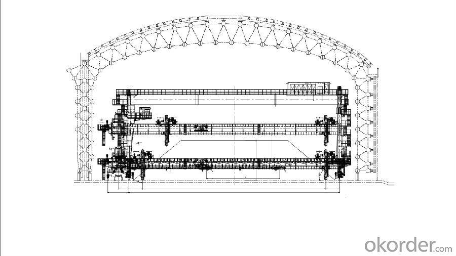Gantry Bucket Wheel Stacker Reclaimer,Stacker and Reclaimer, Bulk Transportation Equipment