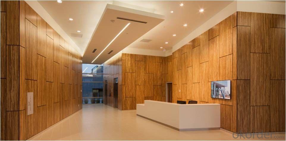 Buy bamboo wood panel interior wall ceiling - Architectural wood interior wall panels ...