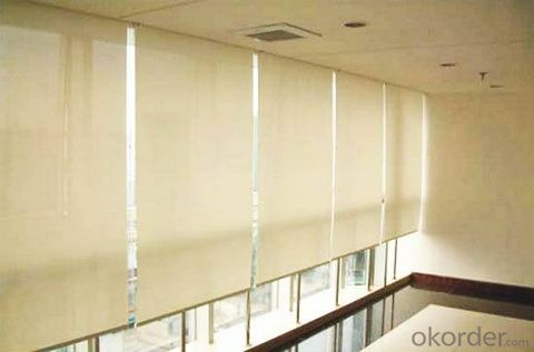 Sunscreen Fabric for Roller Blinds Mechanism for Roller Blinds Roller Blinds with Tassels