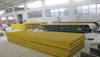 FRP Grating Machine Manufacture Molded FRP Grating of New Design