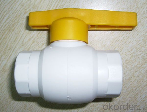 2018 PPR orbital Ball Valve Fittings used in Industrial Fields from China