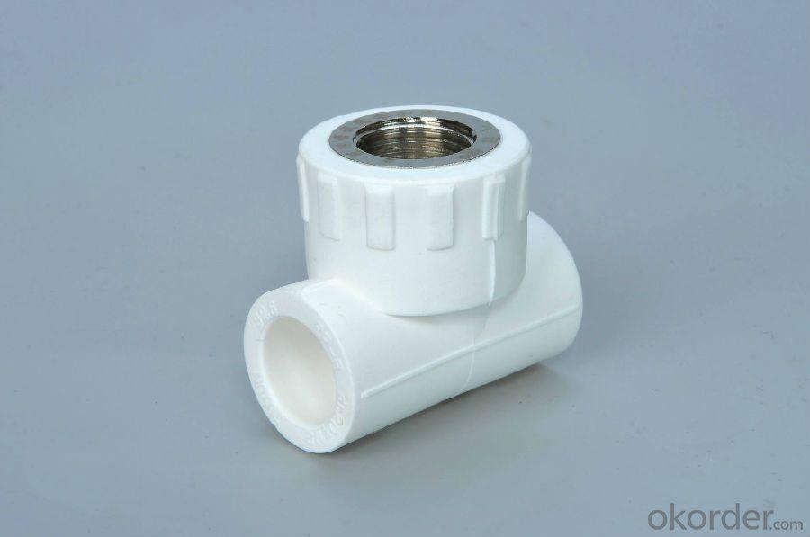 PPR orbital Equal Tee Fitting  used in Industrial Fields