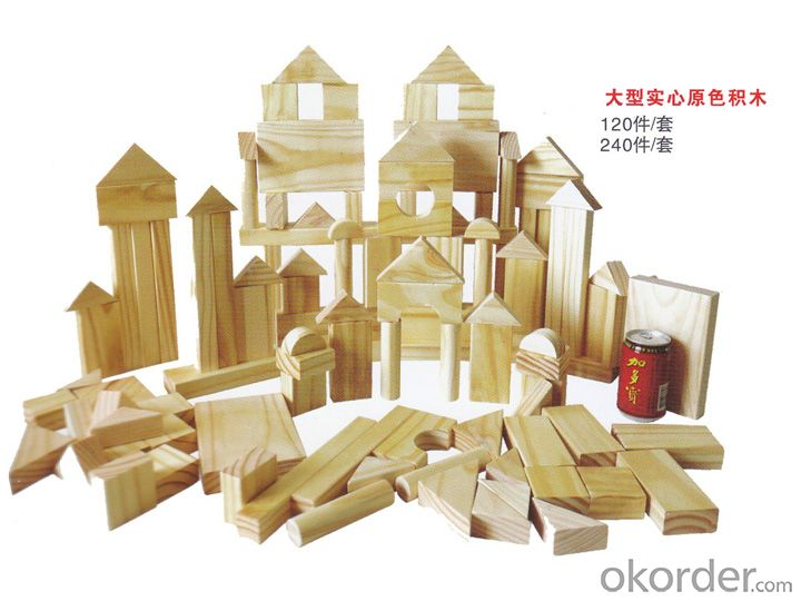 children preschool wooden outdoor playground Amusement equipment toy brick
