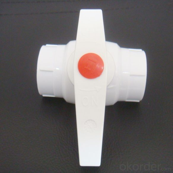 PPR Ball Valve Used in Industrial Field and Agriculture Field Made in China Factory