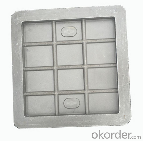 OEM ductile iron manhole covers with high quality for mining and industries in China